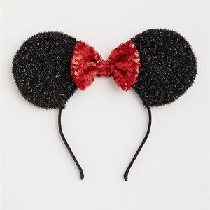 Torrid Disney Minnie Mouse Bow Ears Headband